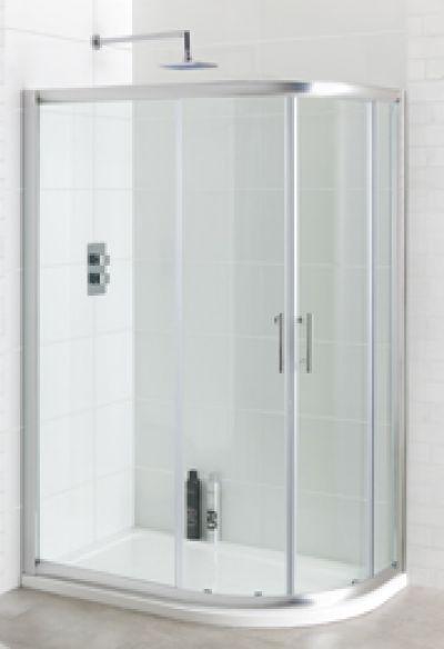 1100 X 900 Offset Quadrant Shower Enclosures Ergonomic
