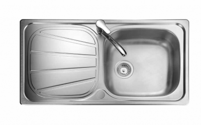 bb5287772a Right Hand Drainer or Small Bowl Stainless Steel Kitchen Sink