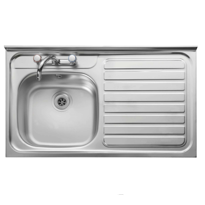 1ea62e2faa 1 Bowl Stainless Steel Kitchen Sink