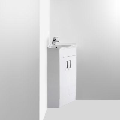 Corner vanity unit ergonomic designs for Ergonomic designs bathroom