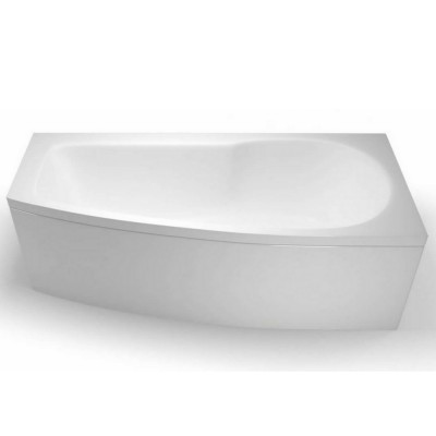 Cleargreen EcoCurve Space Saving 1700 X 750mm Shower Bath Right Hand