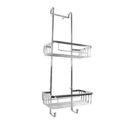 roman shower tidy large l shaped corner shower basket. Black Bedroom Furniture Sets. Home Design Ideas