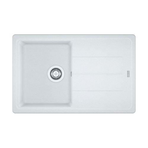 Franke Basis BFG 611-780 Fragranite Kitchen Sink in Polar White
