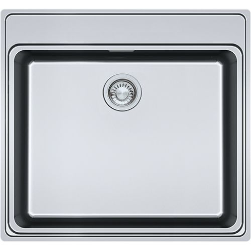 Franke FSX210TPLSS 1B Inset Kitchen Sink Stainless Steel 127.0434.286
