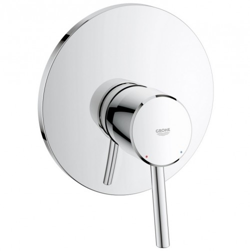 Grohe concetto chrome single lever shower mixer valve trim - Grohe concetto shower ...