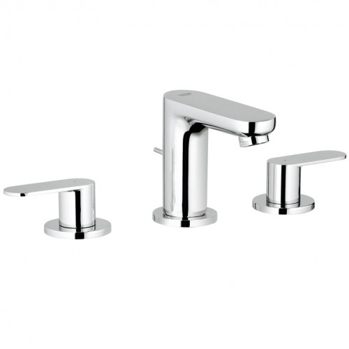 grohe eurosmart cosmopolitan 3 hole basin mixer tap. Black Bedroom Furniture Sets. Home Design Ideas
