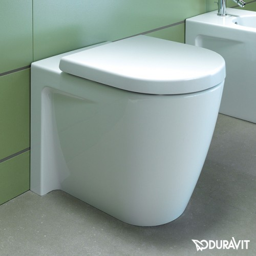 duravit starck 2 back to wall washdown toilet pan. Black Bedroom Furniture Sets. Home Design Ideas