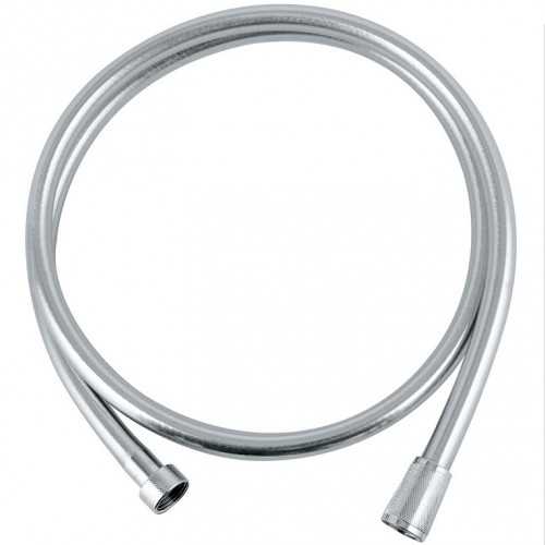 grohe relexa 1500mm silverflex shower hose silver. Black Bedroom Furniture Sets. Home Design Ideas
