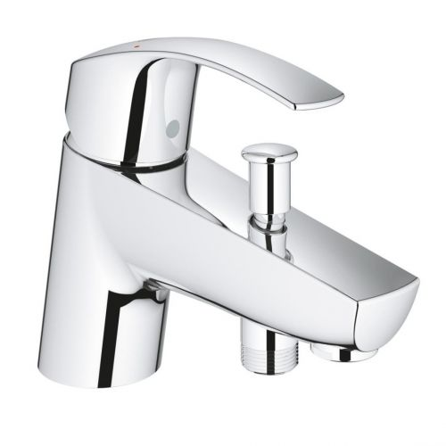Grohe Eurosmart Single Lever Chrome Bath Tap