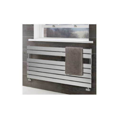image for 41.0196 Eastbrooks Staverton  Flat Panel Towel Radiator 600x600 White