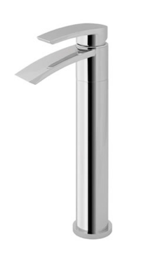 Eastbrooks Estorick Tall Deck Mounted Basin Tap and clicker waste
