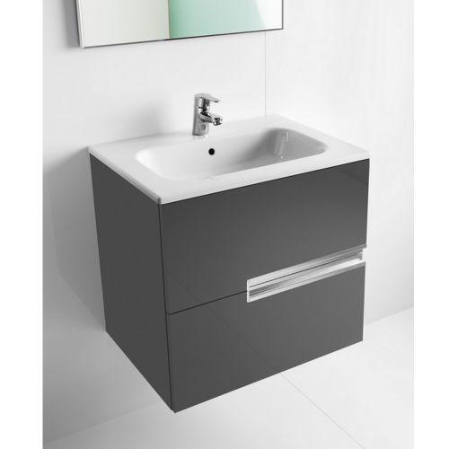 roca victoria n unik 685mm wall hung vanity unit with. Black Bedroom Furniture Sets. Home Design Ideas