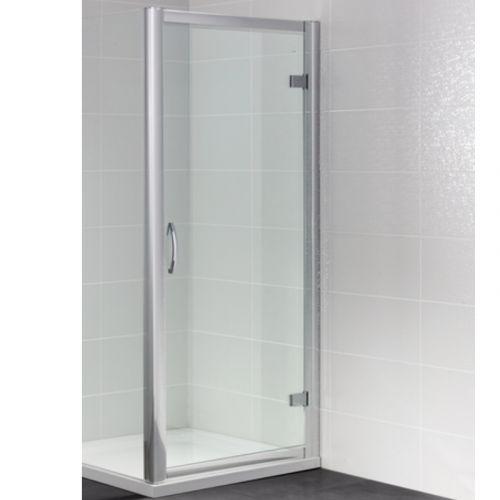 Image For AP9363S April Identiti2 Semi Frameless Hinged Shower Door 700mm