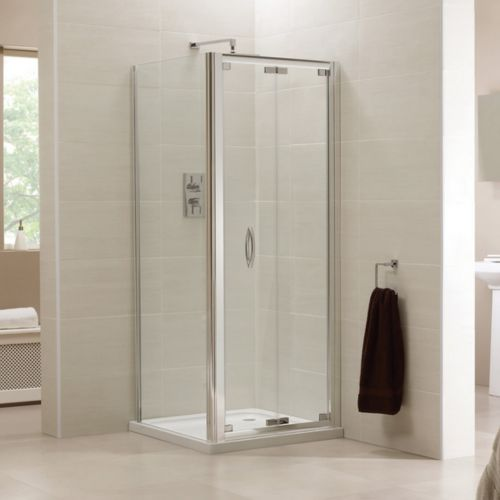 Image For AP9453S AP9475S April Identiti2 1000 X 900mm Bifold Shower Enclosure