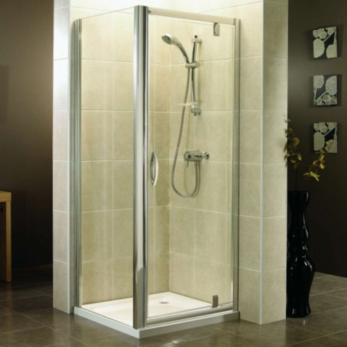 image for AP9472S-AP9473S-2505-630 April Identiti2 900 x 760mm Pivot Shower Enclosure With Tray