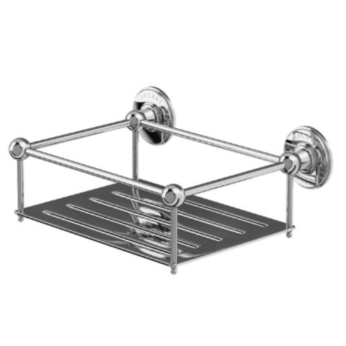 Arcade Wall Mounted Shower Tidy Soap Basket Chrome