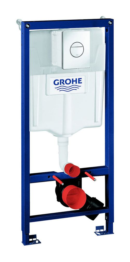 BG38860000 Grohe Rapid SL 3-in-1 Wall-Hung Cistern and Frame Pack