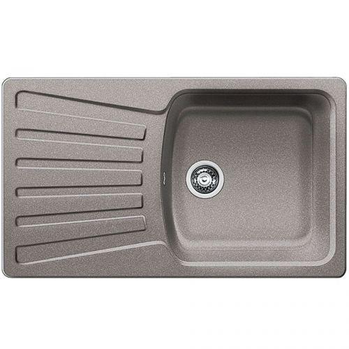 Blanco Inset Silgranit Kitchen Sink Nova 5 S Alumetallic Bl467338