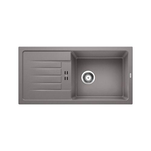 Blanco Inset Silgranit Kitchen Sink Favum Xl 6 S Alumetallic Bl468408