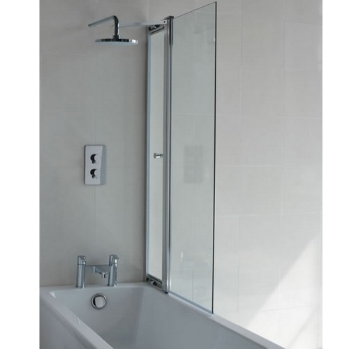 Cleargreen Bath Shower Screen With Access Panel