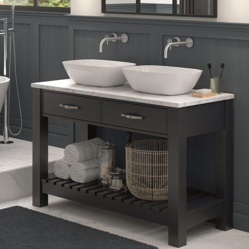 Btl Manhattan 1200mm Floor Standing, Free Standing Bathroom Sink Vanity