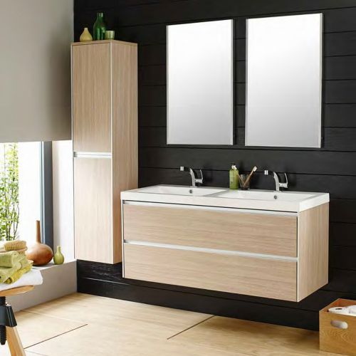 Fen002 hudson reed erin 1200mm light oak wall hung double basin fen002 hudson reed erin 1200mm light oak wall hung double basin vanity unit aloadofball Image collections