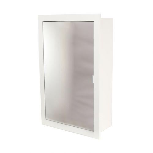 Abacus Trio Recessed Mirror Door, Recessed Mirror Cabinet For Stud Walls