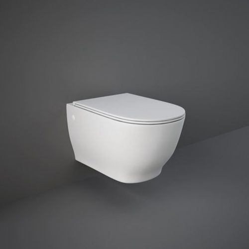 image for HARWHPAN-SC Rak Harmony Wall Hung Wc Toilet Pan And Soft Close Seat