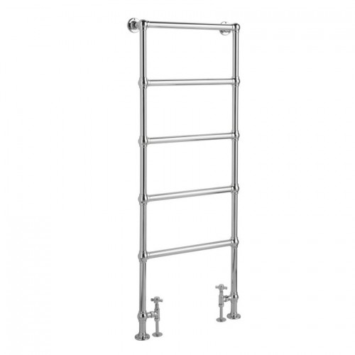 Heated Towel Rail Height From Floor: Hudson Reed Traditional Countess 1550x600mm Towel Rail