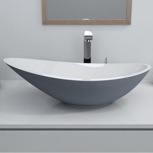 Horizon Venus 564mm Polymarble, Countertop Bathroom Sinks