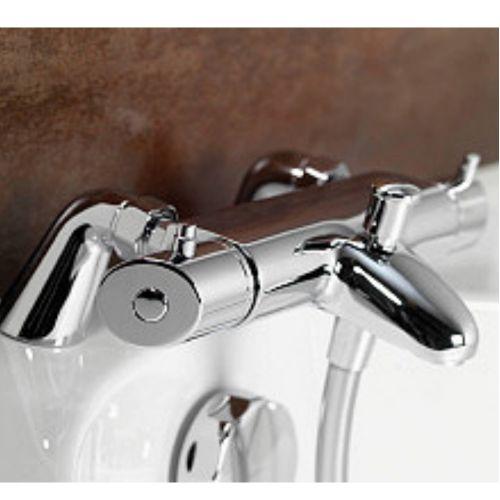 Thermostatic Bath Shower aqualisa hiqu xt thermostatic bath shower mixer tap hp combi