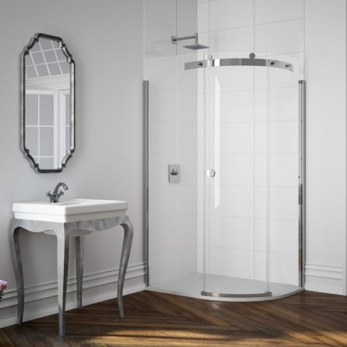 Image For M103221CR Merlyn 10 Series 900 X 1 Door Quadrant Shower Enclosure Right Hand