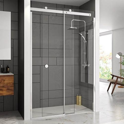 image for M1081700CHR Merlyn 10 Series 1700mm Frameless Sliding Shower Door Right Hand