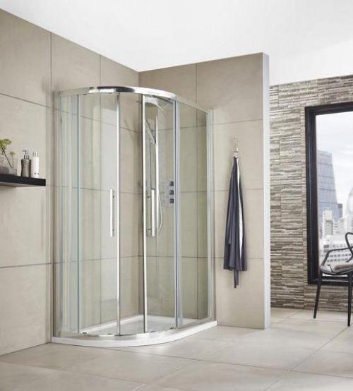 Premier Apex 1200mm X 900mm Offset Quadrant Shower Enclosure With