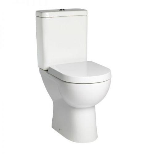 Tavistock Ion Comfort Height Close Coupled Wc Toilet Pan