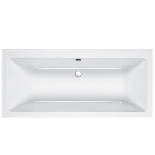 image for Q4-02392 Carron Quantum DE 1700 x 800mm Double Ended Bath