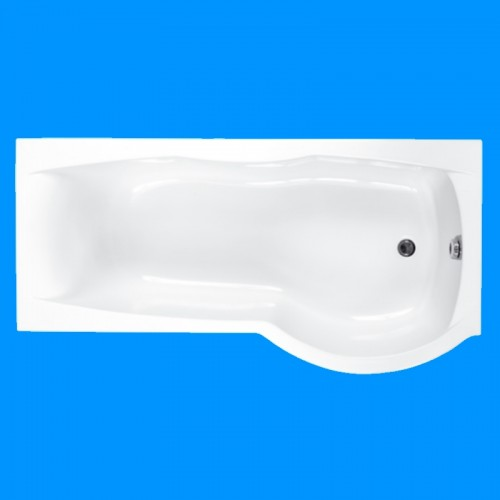 image for Q4-02472 Carron Sigma 1800 X 750mm B Shape Shower Bath Right Hand