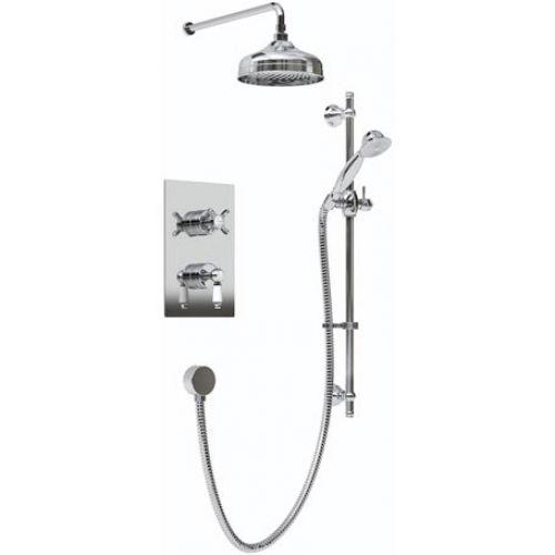 RENAISSANCE SHWR PK Bristan RENAISSANCE Traditional Concealed Shower ...