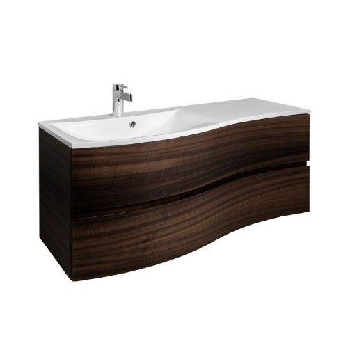 image for SE1200DEC Bauhaus Svelte 1200mm Eucalyptus Wall Hung Vanity Unit