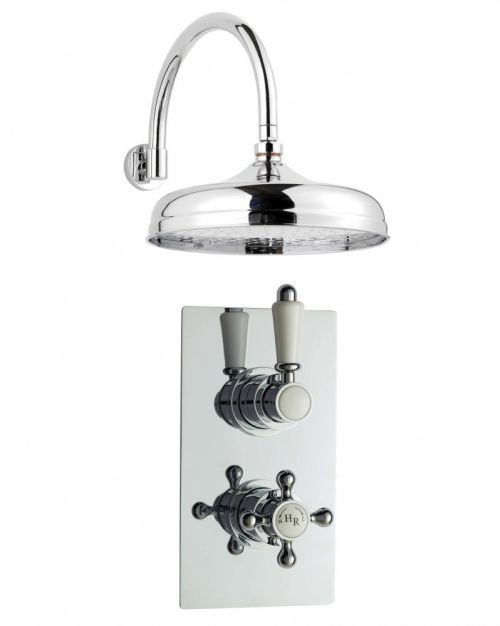 Hudson Reed Showers Twin Concealed Thermostatic Shower Valve With 12