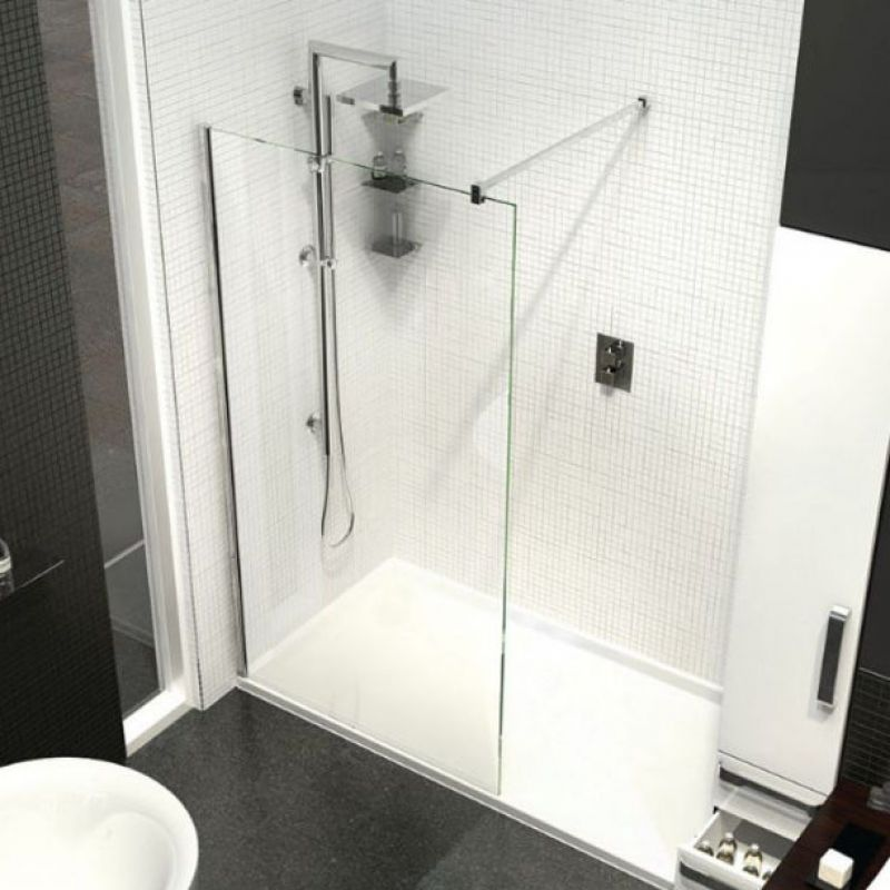 image for 10WP760 Kudos Ultimate2 10mm 760mm Wetroom Glass Panel