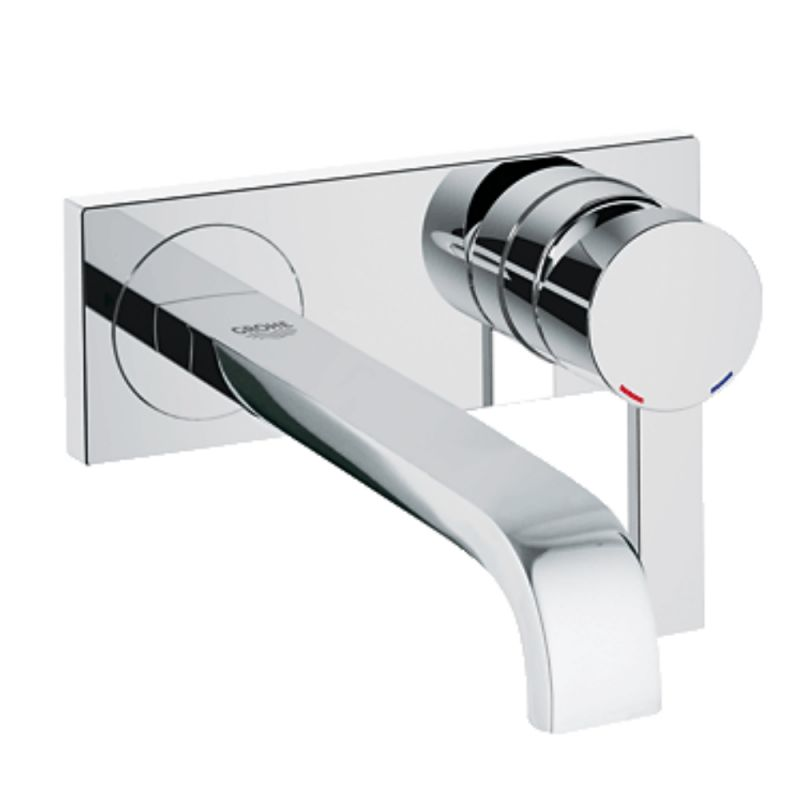 image for 19386000 Grohe Spa Allure 2 Hole Wall Mounted Basin Mixer Tap