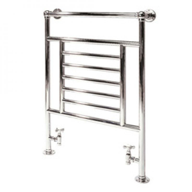 image for 41.1001 Eastbrooks Sherbourne Traditional Towel Radiator  960 x 600mm Chrome