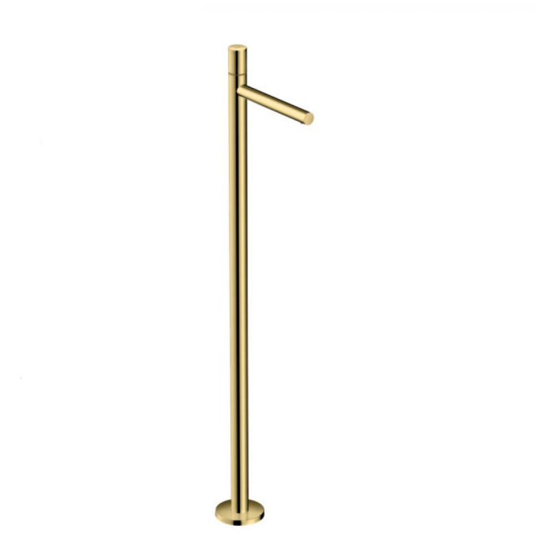 image for 45037930 AXOR Uno Floorstanding Bath Mixer Tap Zero Handle Polished Brass