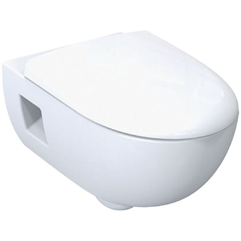 image for 500.215.01.1 Geberit Smyle Premium Rimless Wall Hung Toilet Pan
