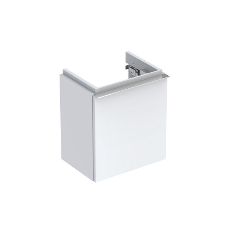 image for 500.425.01.1 Geberit iCon 380mm Cloakroom Vanity Unit One Door White