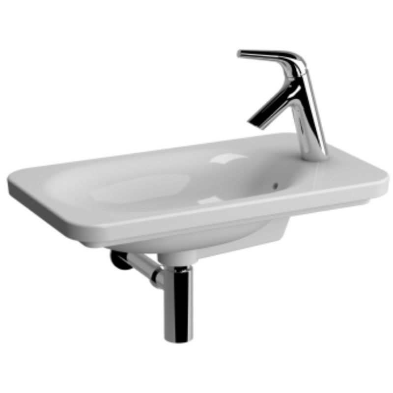 image for 56890030029 Vitra Nest Trendy 595 X 345mm Compact Wall Mounted Basin