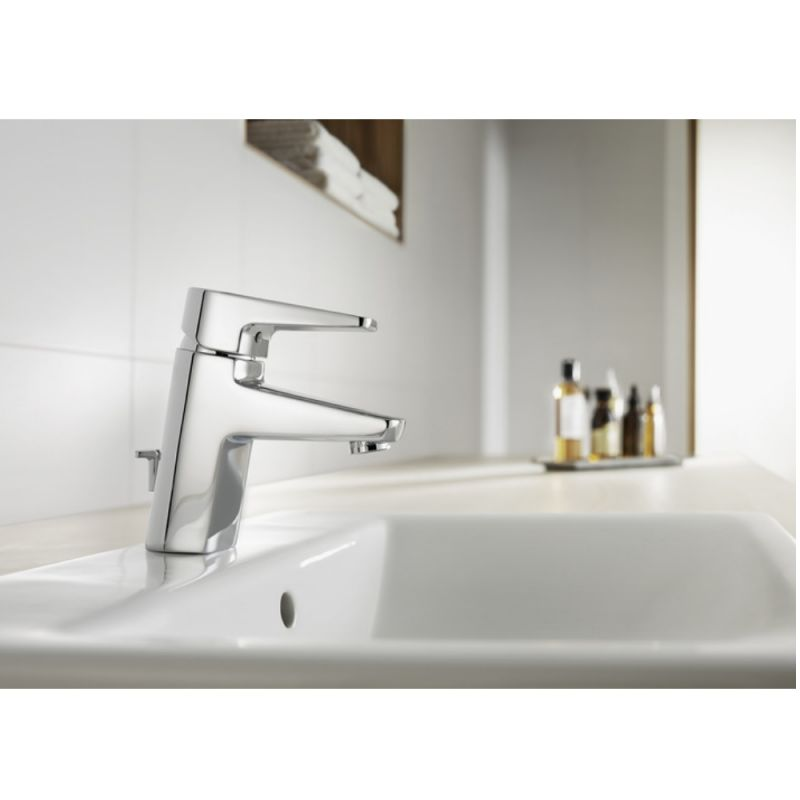 image for 5A3031C00 Roca Esmai Monobloc Basin Mixer Tap With Pop Up Waste