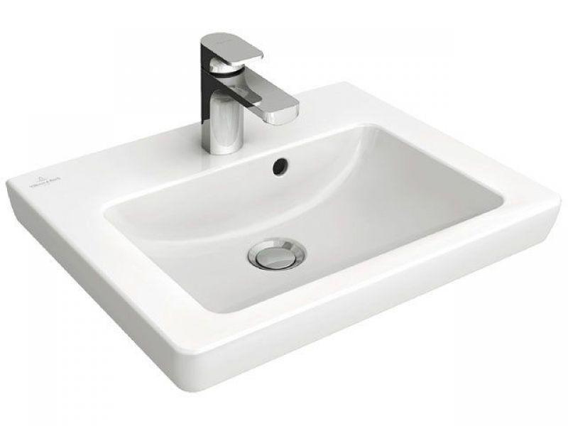 Villeroy And Boch Subway 2 0 Handwashbasin 500 X 400 Mm White Alpin