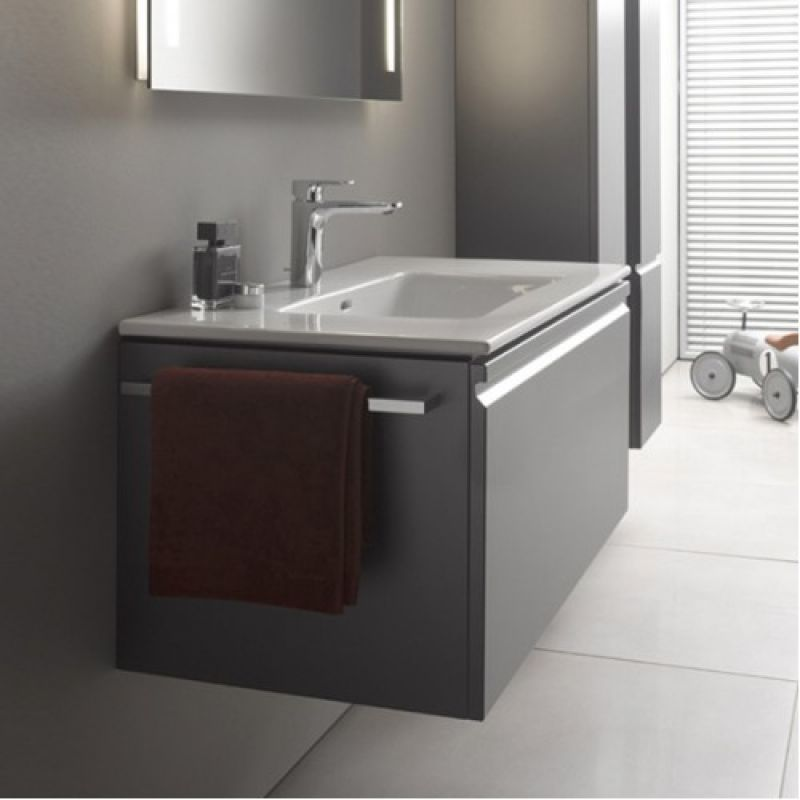 Laufen Pro S 1000mm Wall Hung Vanity Unit And 1th Basin Graphite